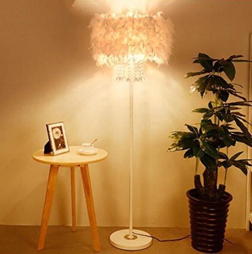 Salon Chevet De Lampadaire Créatif Cristal Plume Lampes fgbv6Y7y