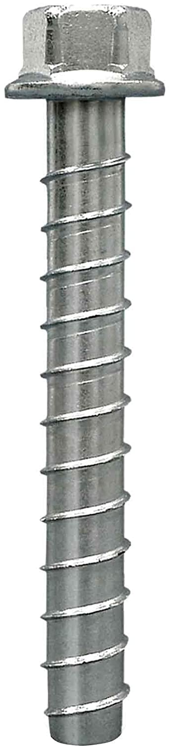 Simpson Strong Tie THD50612HMG 1//2-Inch by 6-1//2-Inch Titen HD Mechanically Galvanized Heavy Duty Screw Anchor for Concrete//Masonry 20 per Pack