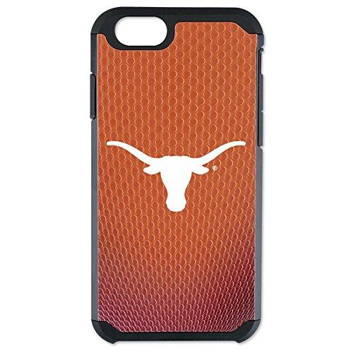 NCAA Texas Longhorns Football Pebble Grain Feel iPhone 6 Case, One Size, Orange by GameWear