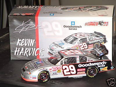 1/24 Scale Action Nascar #29 Kevin Harvick 2002 Monte Carlo GM Goodwrench Service