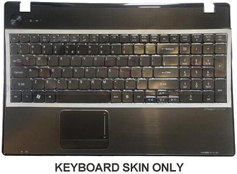 Keyboard Skin for Acer Aspire 5538 5538G 5542 5542G 5742Z