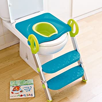 Toily Step Up Potty Toilet Trainer Potty Toilet Seat Step Up Toddler Toilet Training Step Stool & Amazon.com : Toily Step Up Potty Toilet Trainer Potty Toilet Seat ... islam-shia.org