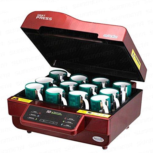 3d Pro Sublimation Heat Press Machine Epson 1430 Printer