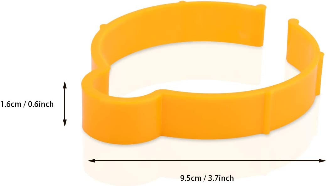 5 PCS 8cm Coil Hoop Ring Helpful Tool for Auto Film Roll Sheet Ehdis 3.2 Vinyl Wrap Sheet Clip Storage Tool for Car Wrap Vinyl Sticker Decal Film Sheet