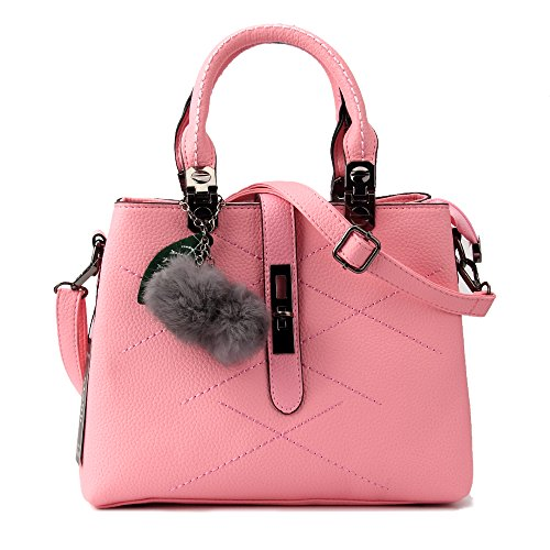 Women Handbag,Women Bag, KINGH Zip Closure Tote Vintage Shoulder Bag PU Leather 116 ¡­