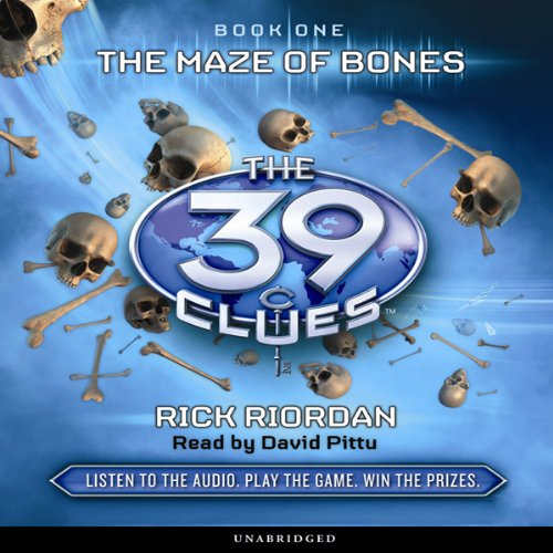 39 clues audio cd - 2