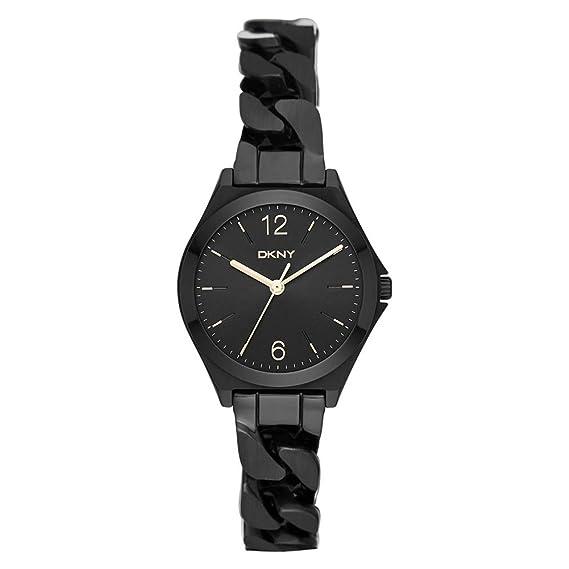 DKNY Reloj analogico para Mujer de Cuarzo con Correa en Acero Inoxidable NY2426