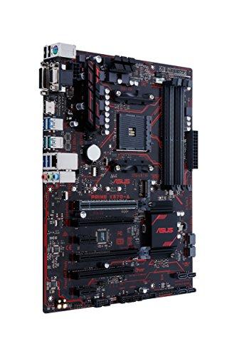 ASUS AMD Ryzen AM4 DDR4 HDMI DVI VGA M.2 USB 3.1 ATX Motherboard (Prime X370-A) ()