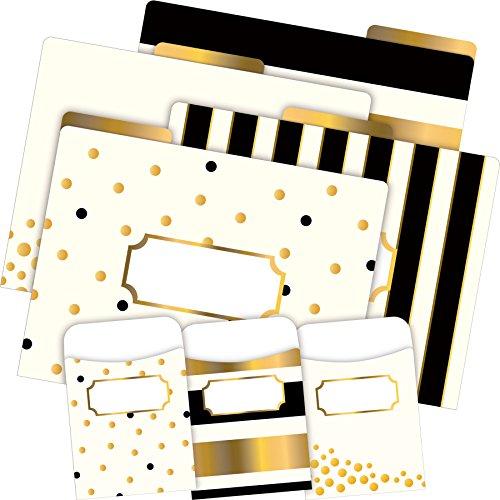 Hot Barker Creek Folder/Pocket Set, Gold (BC3540) free shipping