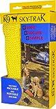 Omega Pacific Portable Dog Run Leash, Yellow/Blue