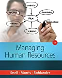 img - for Managing Human Resources by Snell, Scott A., Morris, Shad S., Bohlander, George W. (January 1, 2015) Hardcover book / textbook / text book
