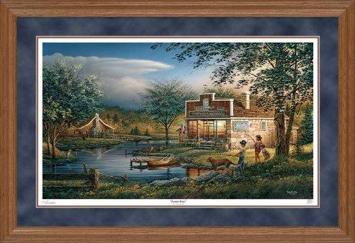 Summertime Framed Artist Proof Print by Terry Redlin