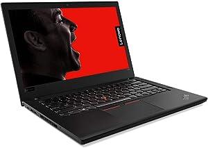 "2019 Lenovo ThinkPad T480 14"" HD Business Laptop (Intel 8th Gen Quad-Core i5-8250U, 16GB DDR4 RAM, Toshiba 512GB PCIe NVMe 2242 M.2 SSD) Fingerprint, Thunderbolt 3 Type-C, WiFi, Windows 10 Pro – Black"