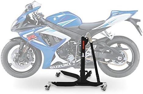 Constands Power Classic Zentralständer Suzuki Gsx R 750 06 10 Schwarz Matt Motorrad Aufbockständer Heber Montageständer Auto