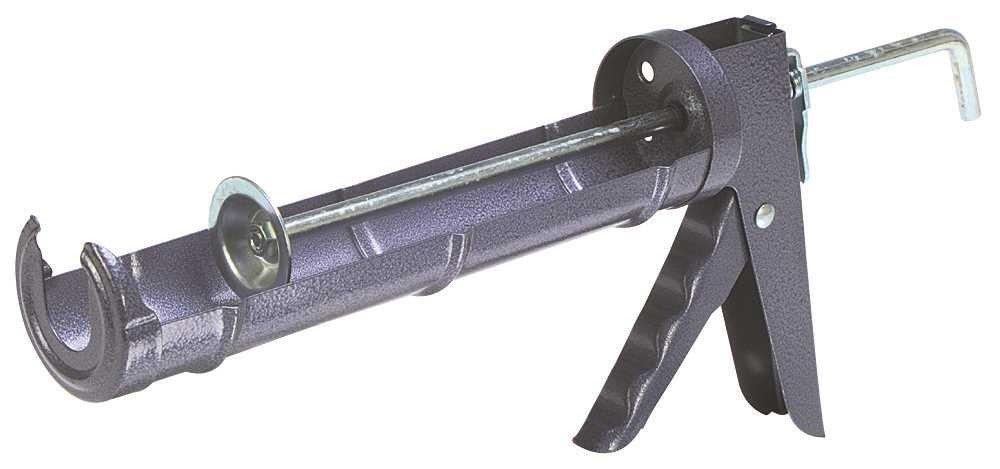 National Brand Alternative 500 Caulking Gun, 10-1/2 oz