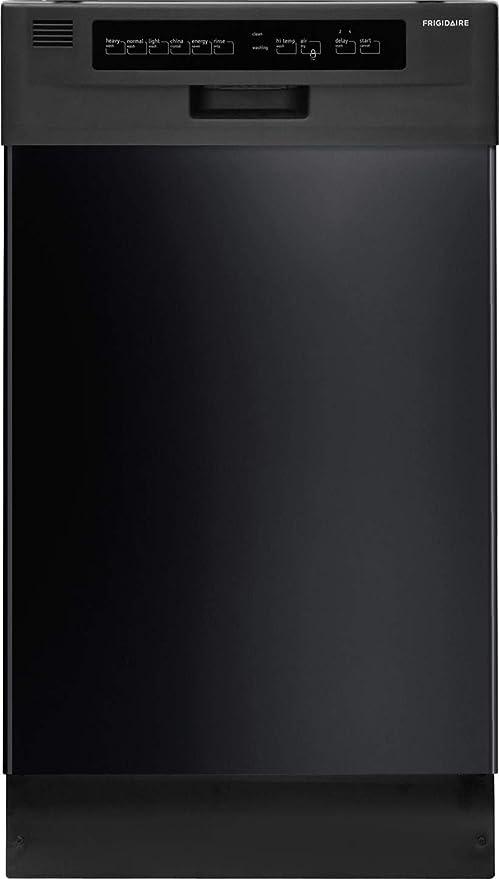 Frigidaire FFBD1821MB 1800 Black Full Console Dishwasher