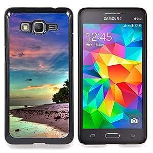 SKCASE Center / Funda Carcasa protectora - Hermosa Isla de la serenidad;;;;;;;; - Samsung Galaxy Grand Prime G530H / DS