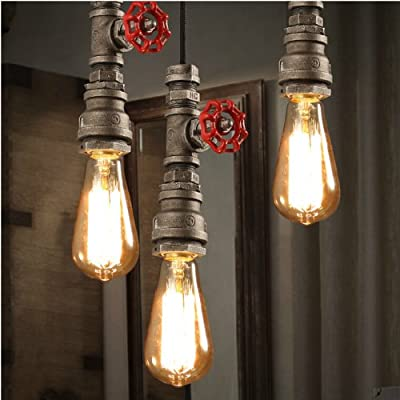 Lightinthebox Retro Restaurant Bar Hanging Light Lamp Act The Role Ofing Loft Personality Decoration Rural Industrial Pipe Pendant Lighting 1 Bulb