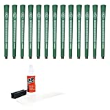 Avon Chamois Jumbo Green-13 Piece Golf Grip Kit (with Tape, Solvent, Vise Clamp)