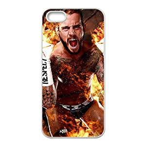 Malcolm WWE Wrestling Fighter White Phone Case for Iphone 5s