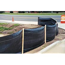Dewitt Company De Witt SILTFENCE24 Silt Fence with Stakes
