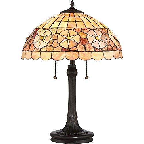 -Light Sea Shell Collection Sanibel Table Lamp in Vintage Bronze (Sanibel Metal)