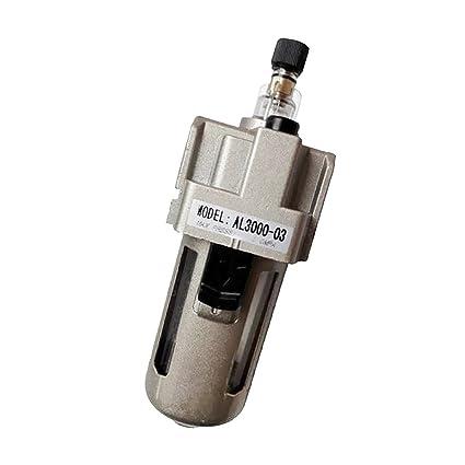 MagiDeal Al3000-03 3/8 Regulador Filtro de Aire Compresor Manómetro Presión