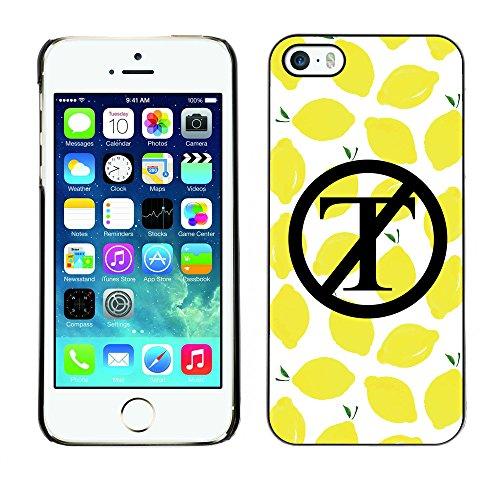 Print Motif Coque de protection Case Cover // Q04130523 NON trump citron // Apple iPhone 5 5S 5G