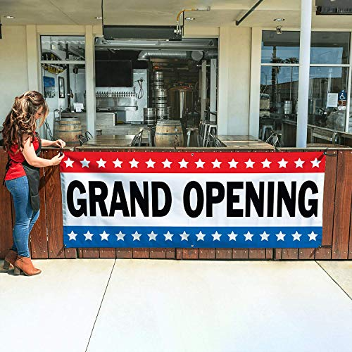 GRAND OPENING Banner 3ftX8ft