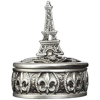 Fashioncraft Eiffel Tower Design Curio Box Favors