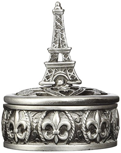 Eiffel Tower Base - Fashioncraft Eiffel Tower Design Curio Box Favors