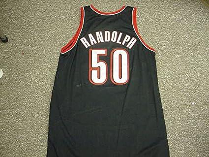 low priced 811a2 7cdba Zach Randolph Portland Trail Blazers Adidas Game Jersey at ...