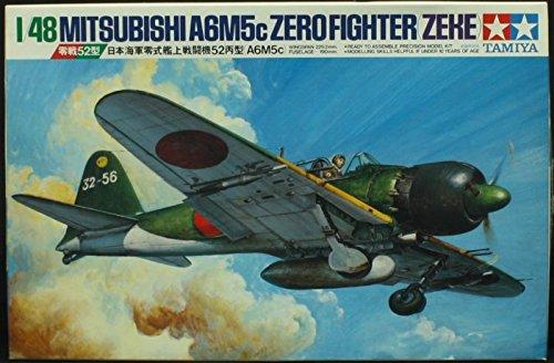 Fighter Zero A6m5c - Tamiya 1:48 Mitsubishi A6M5c Zero Fighter (Zeke) Model Kit #61027