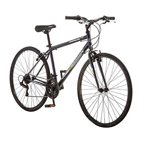 700c Roadmaster Adventures Mens Hybrid Bike, Dark Blue