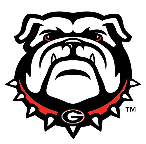 - Georgia Bulldogs Decal New Bulldog Head Decal 12