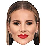 Celebrity Cutouts Georgia Kousoulou (Lipstick) Big Head. Larger Than Life mask.