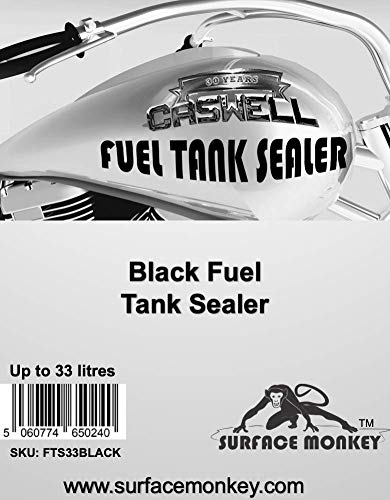 2 Pack Product Caswell Black Fuel Tank Sealer Up to 33 Litres