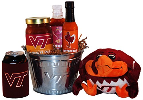Virginia Tech Tailgate Grilling Gift Basket - Large