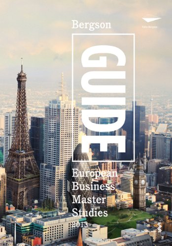 Bergson Guide: European Business Master Studies 2013