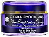 Bleaching Skin Asian - Gentle Skin Brightening Cream: Skin Lightening & Whitening from 4 Natural Plant Extract Skin Lighteners & Exfoliating Agents. Effective Safe Bleaching Substitute to Hydroquinone for Even Skin Tone