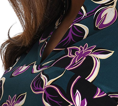 Aspesi Damen 2921A3239010 Multicolour Seide Kleid dW9x1aBMo