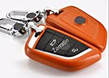 Luxury Real Leather Key Case Cover for BMW X5 X6 F15 F16 ...