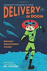 When Luno's dad FINALLY gives him the responsibility of delivering pizza orders all over the galaxy, Luno is excited, mostly. He knows that delivering pizza is no walk on the moon. There are hostile customers, and there's always the th...