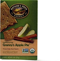 Nature\'s Path Un-Frosted Toaster Pastry - Apple Cinnamon - 11 oz - 6 ct