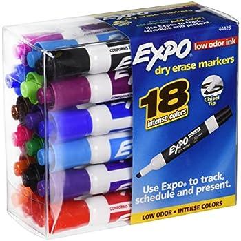 Amazon.com : 18pk Expo Intense Colors Dry Erase Markers