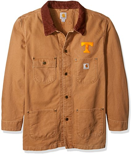 NCAA Tennessee Volunteers Men's Weathered Chore Coat, XX-Large ()