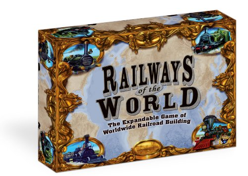 - Eagle-Gryphon Games Railways of The World Strategy Board Game