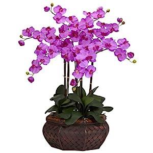 artificial flower arrangements orchids