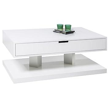 Design Couchtisch HENDRIK Wohnzimmertisch Sofatisch Schublade ...