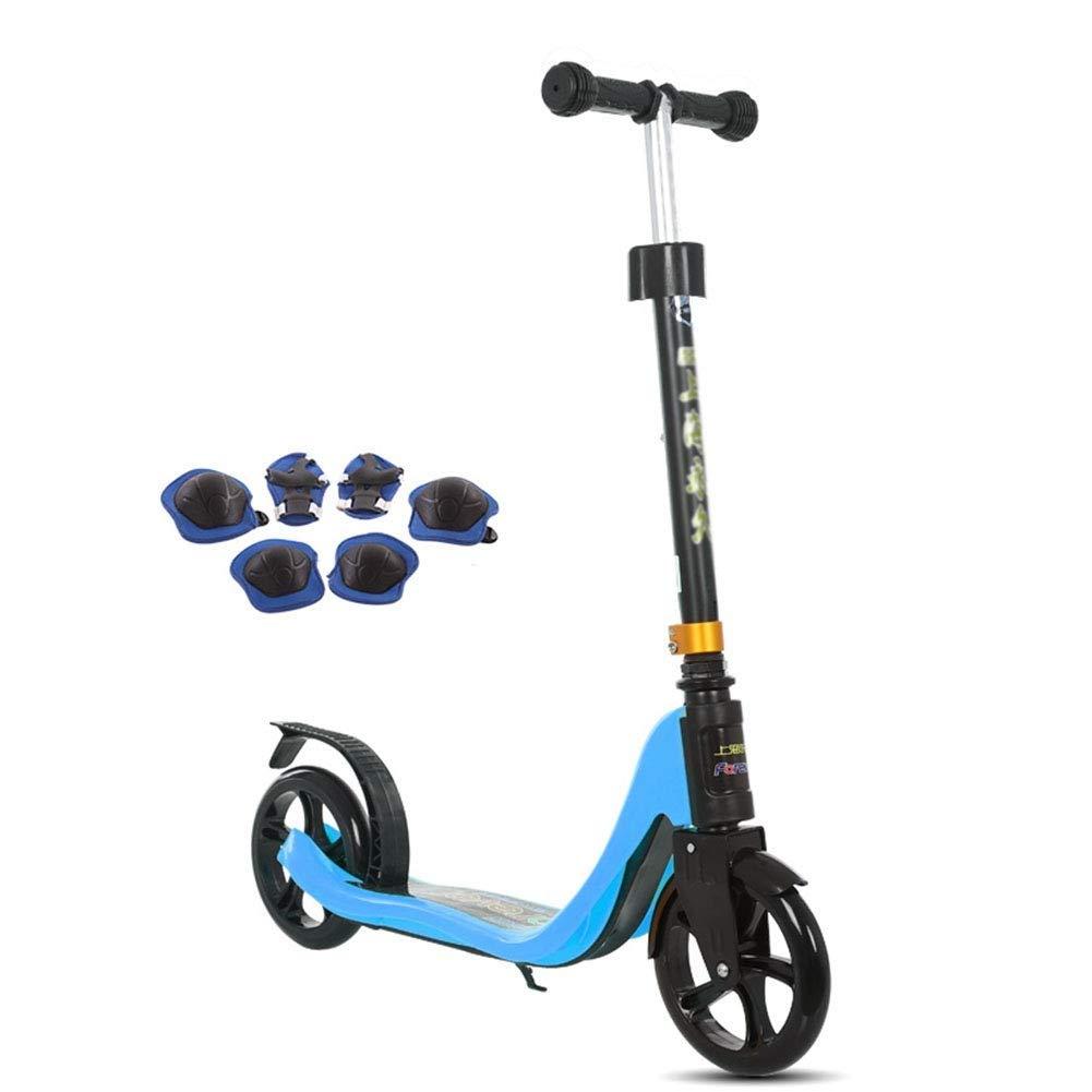 最初の  スクーターを蹴る子供たち オレンジ) ジュニアスクーター、キックスクーター、子供用スクーター (色 : オレンジ) 青 B07R66KCJT B07R66KCJT 青 青, いわきチョコレート:c2b91cb8 --- 4x4.lt